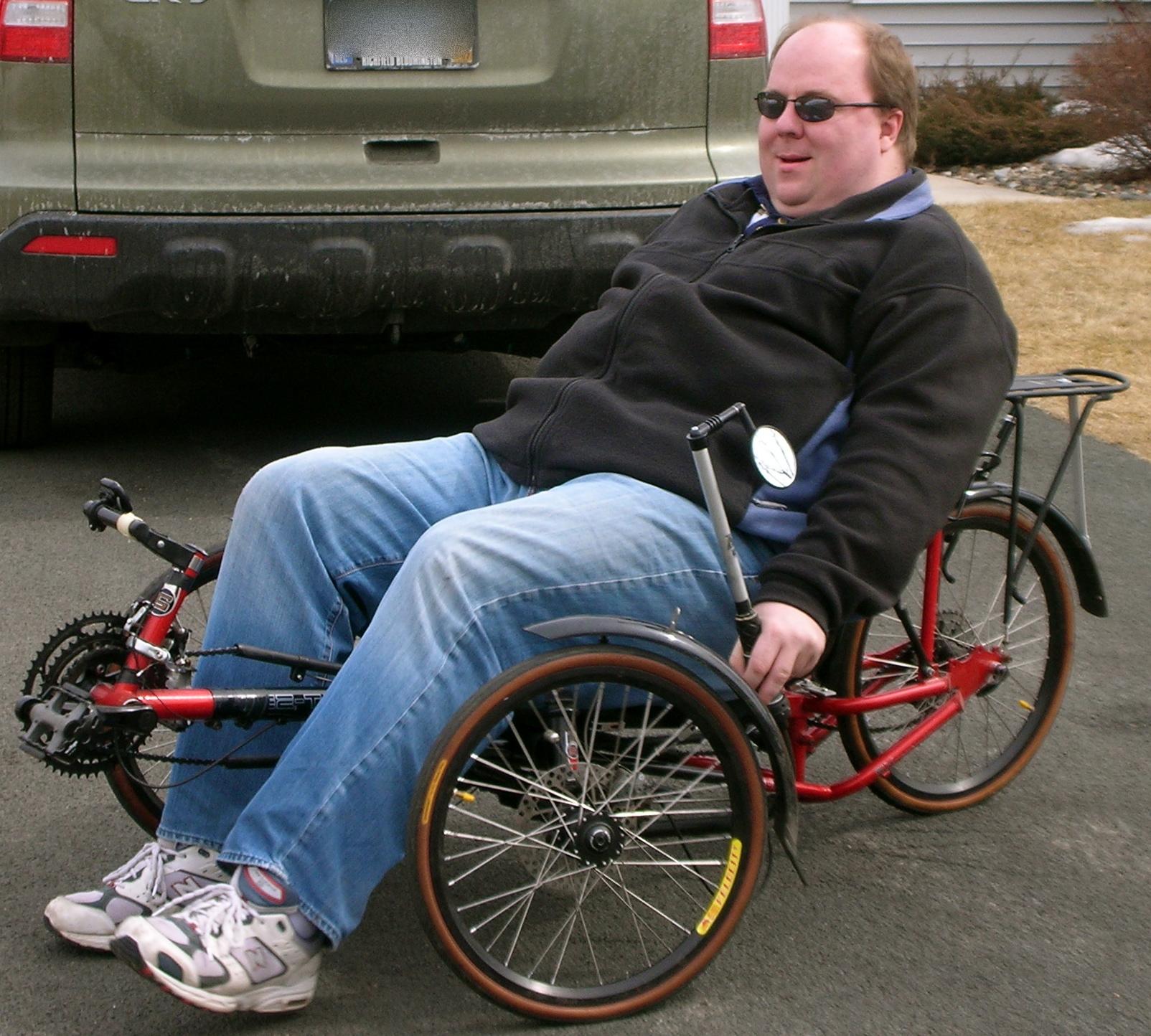 Trike Parked Teens hard fucked