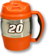 Picture of an orange Bubba Keg